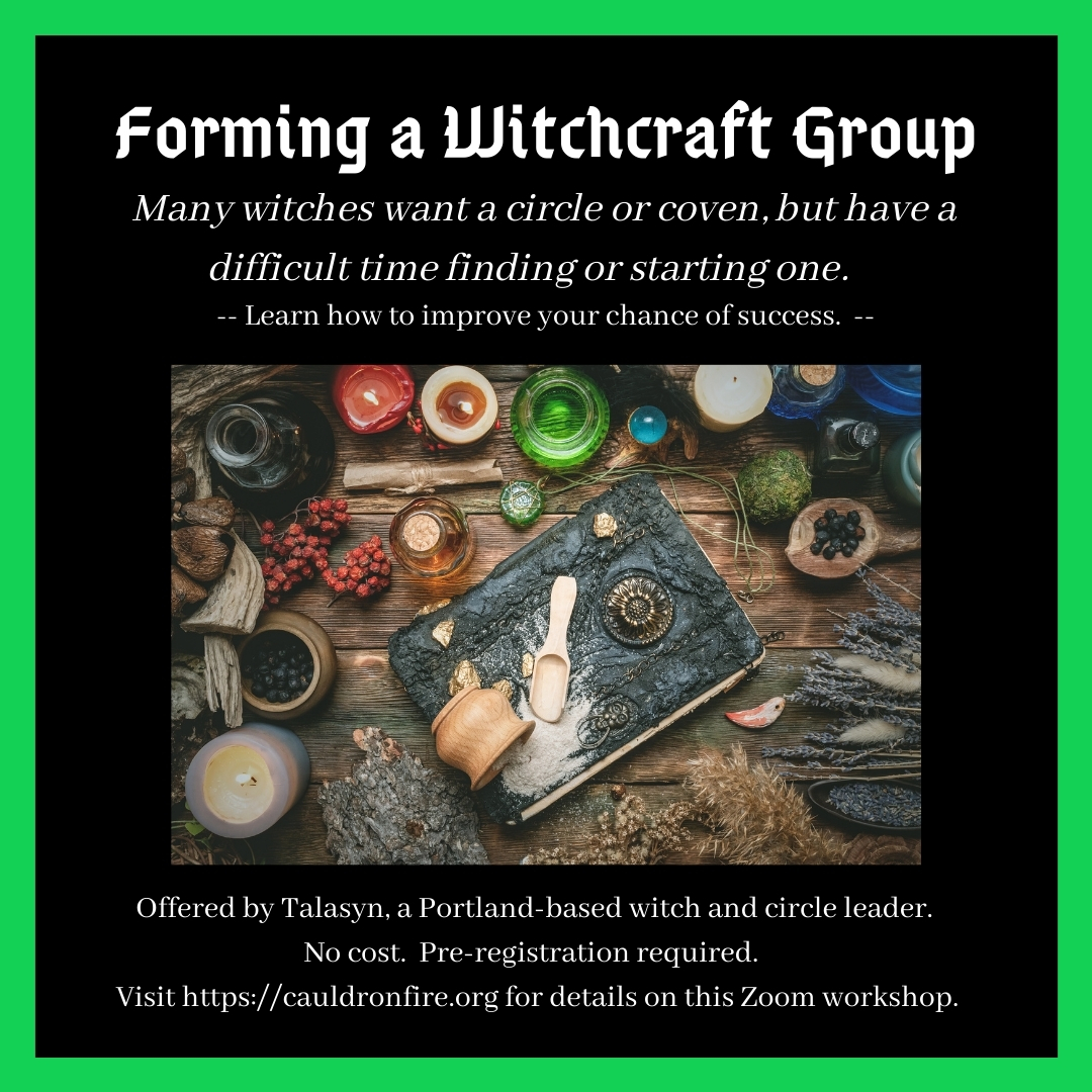 Forming a Witchcraft Group